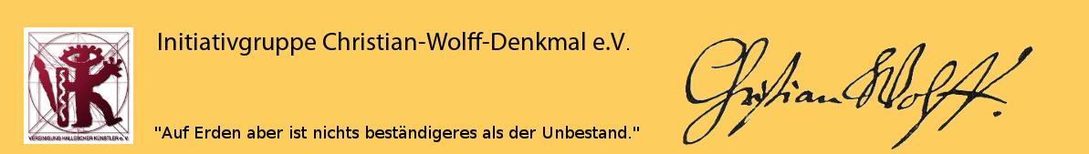 Ein Denkmal für Christian Wolff